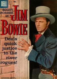 Cover Thumbnail for Four Color (Dell, 1942 series) #893 - Jim Bowie