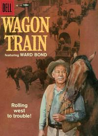 Cover for Four Color (Dell, 1942 series) #895 - Wagon Train