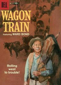 Cover Thumbnail for Four Color (Dell, 1942 series) #895 - Wagon Train