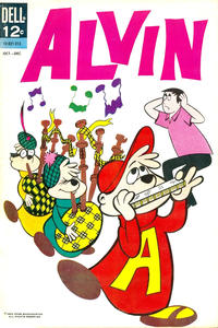 Cover Thumbnail for Alvin (Dell, 1962 series) #[1]