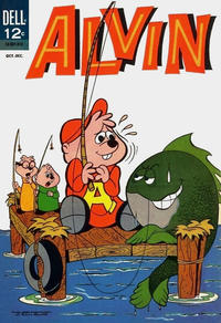 Cover Thumbnail for Alvin (Dell, 1962 series) #5