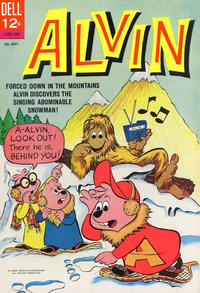 Cover Thumbnail for Alvin (Dell, 1962 series) #12