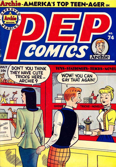 Cover for Pep Comics (Archie, 1940 series) #74