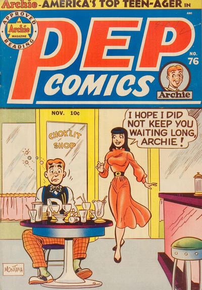 Cover for Pep Comics (Archie, 1940 series) #76