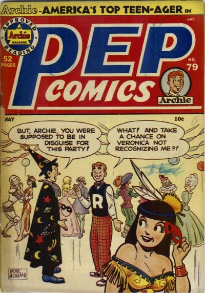Cover for Pep Comics (Archie, 1940 series) #79