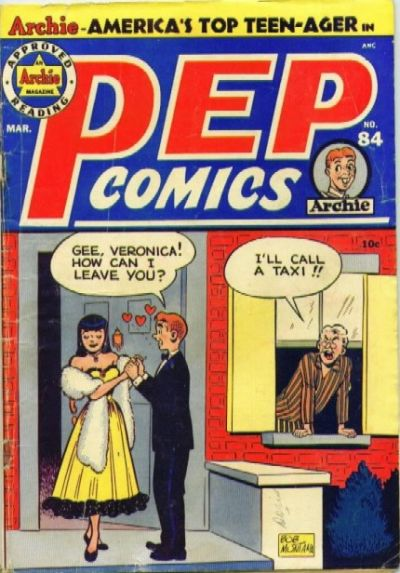 Cover for Pep Comics (Archie, 1940 series) #84