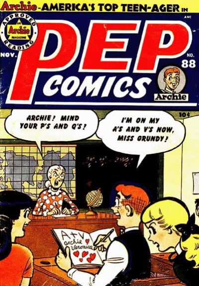 Cover for Pep Comics (Archie, 1940 series) #88