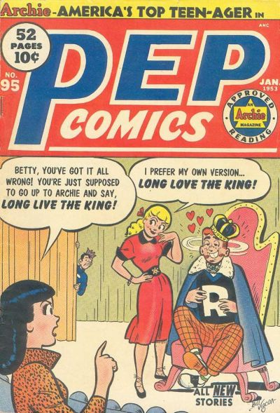 Cover for Pep Comics (Archie, 1940 series) #95