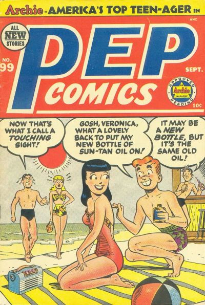 Cover for Pep Comics (Archie, 1940 series) #99