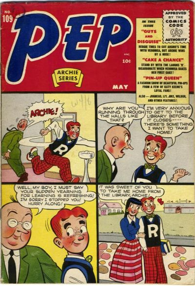 Cover for Pep Comics (Archie, 1940 series) #109