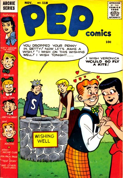 Cover for Pep Comics (Archie, 1940 series) #118