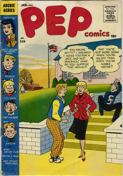 Cover for Pep Comics (Archie, 1940 series) #119