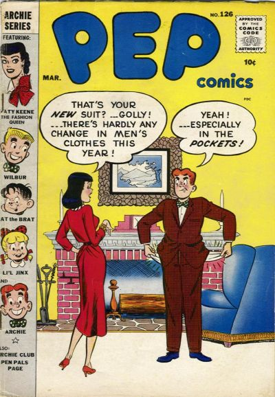 Cover for Pep Comics (Archie, 1940 series) #126