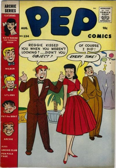 Cover for Pep Comics (Archie, 1940 series) #134