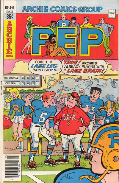 Cover for Pep (Archie, 1960 series) #346