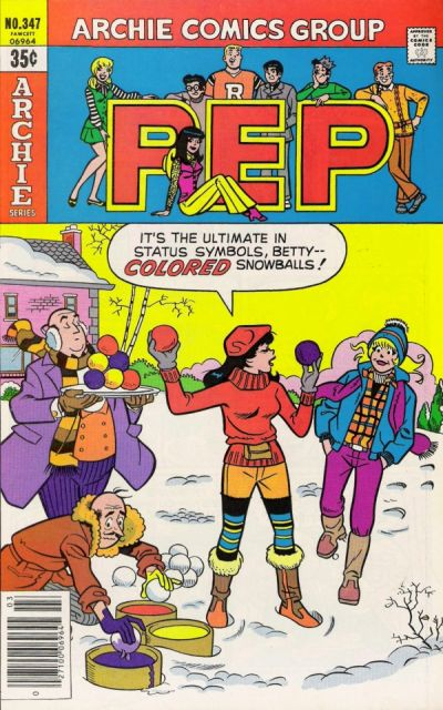 Cover for Pep (Archie, 1960 series) #347