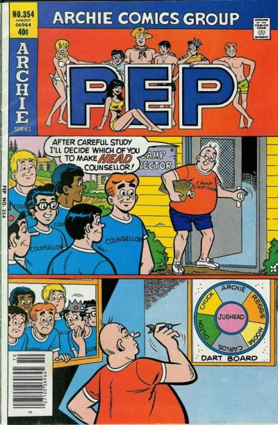 Cover for Pep (Archie, 1960 series) #354