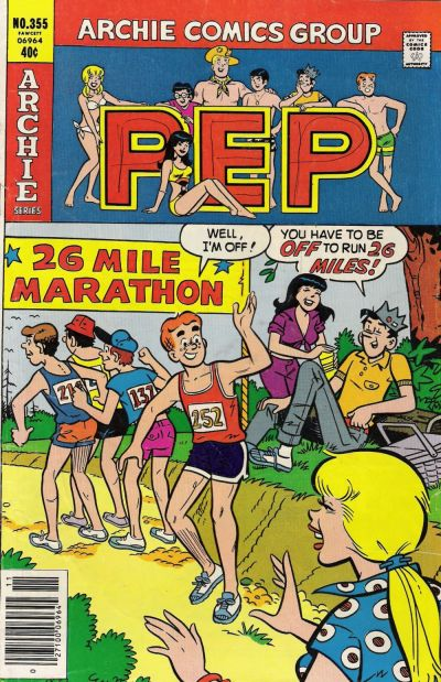Cover for Pep (Archie, 1960 series) #355