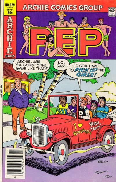 Cover for Pep (Archie, 1960 series) #379