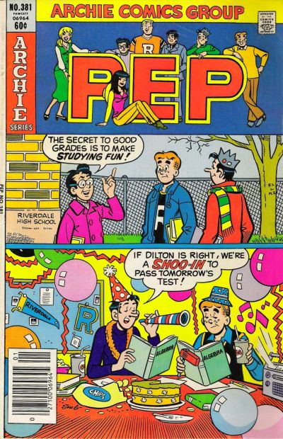 Cover for Pep (Archie, 1960 series) #381