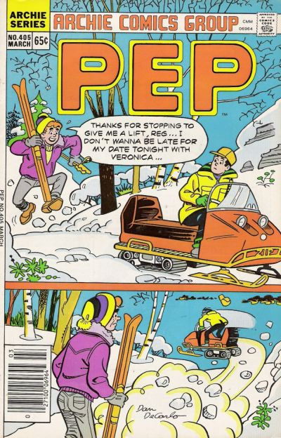 Cover for Pep (Archie, 1960 series) #405
