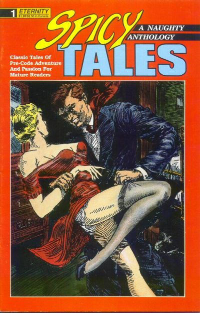 Cover for Spicy Tales (Malibu, 1988 series) #1
