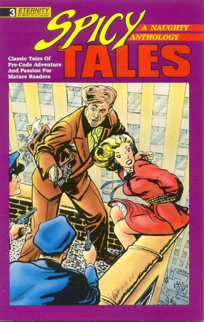 Cover for Spicy Tales (Malibu, 1988 series) #3