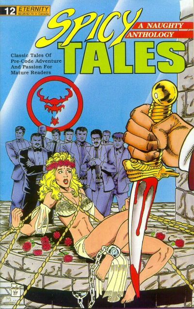 Cover for Spicy Tales (Malibu, 1988 series) #12