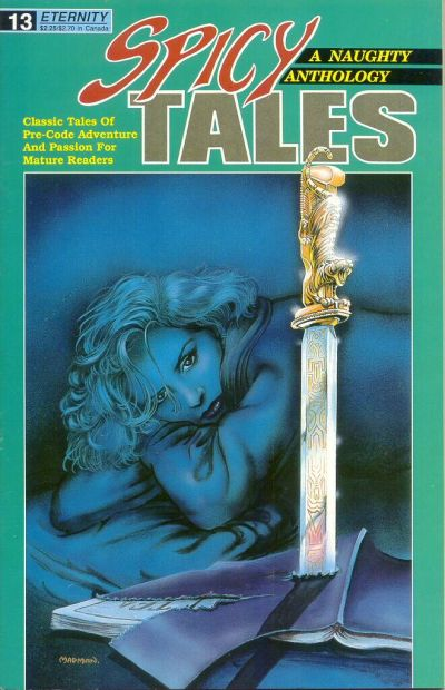Cover for Spicy Tales (Malibu, 1988 series) #13