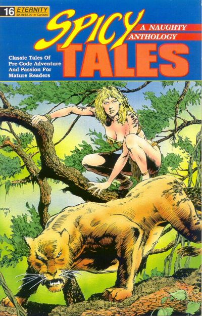 Cover for Spicy Tales (Malibu, 1988 series) #16