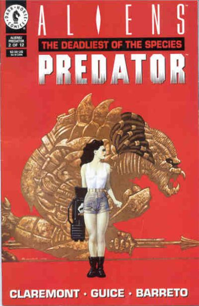 Cover for Aliens / Predator: The Deadliest of the Species (Dark Horse, 1993 series) #2