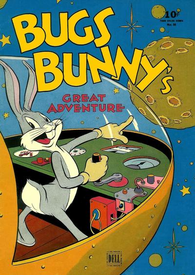 Cover for Four Color (Dell, 1942 series) #88 - Bugs Bunny's Great Adventure