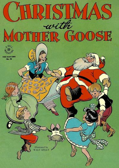 Cover for Four Color (Dell, 1942 series) #90 - Christmas with Mother Goose