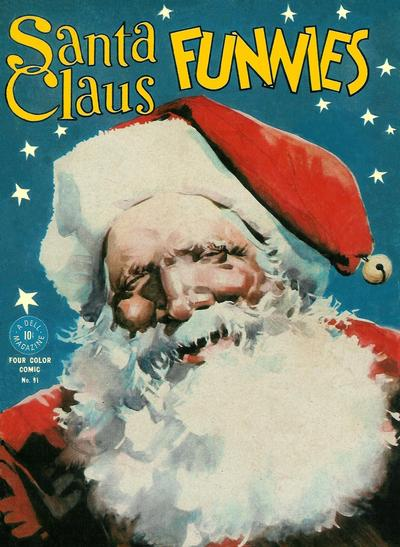 Cover for Four Color (Dell, 1942 series) #91 - Santa Claus Funnies