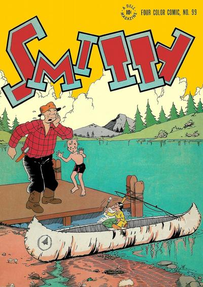 Cover for Four Color (Dell, 1942 series) #99 - Smitty