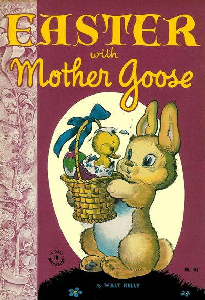Cover for Four Color (Dell, 1942 series) #103 - Easter with Mother Goose