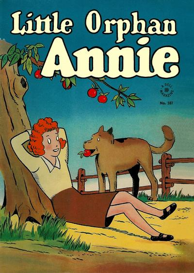 Cover for Four Color (Dell, 1942 series) #107 - Little Orphan Annie