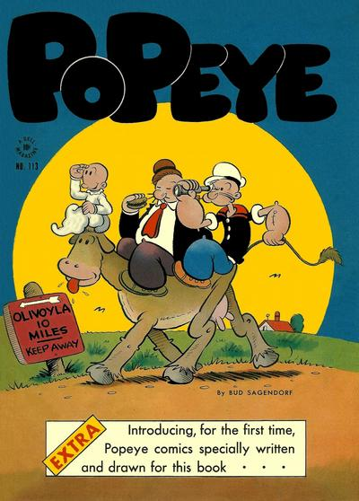 Cover for Four Color (Dell, 1942 series) #113 - Popeye