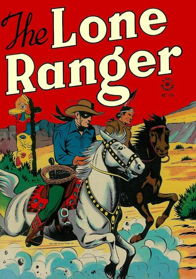 Cover for Four Color (Dell, 1942 series) #118 - The Lone Ranger