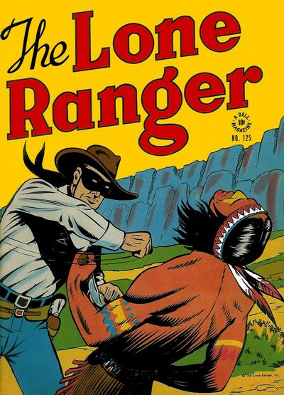 Cover for Four Color (Dell, 1942 series) #125 - The Lone Ranger