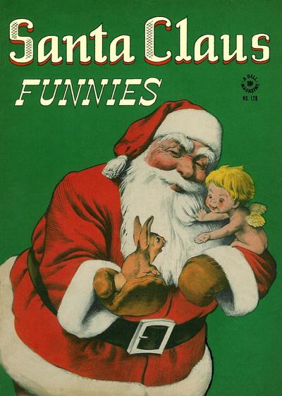 Cover for Four Color (Dell, 1942 series) #128 - Santa Claus Funnies