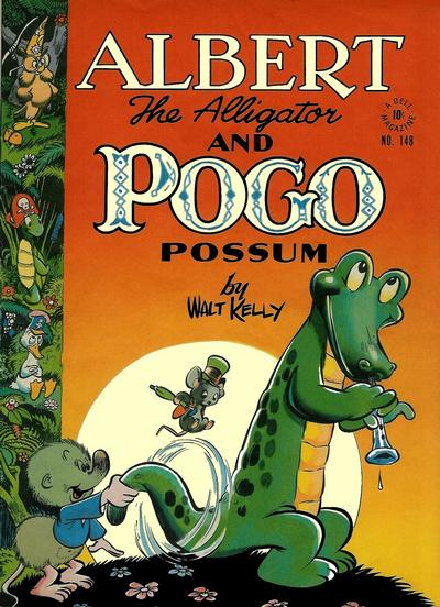 Cover for Four Color (Dell, 1942 series) #148 - Albert the Alligator and Pogo Possum