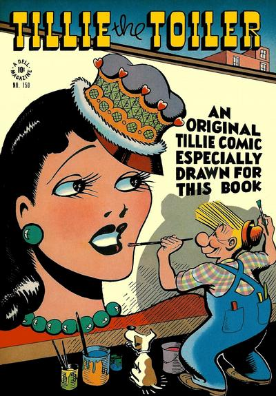 Cover for Four Color (Dell, 1942 series) #150 - Tillie the Toiler