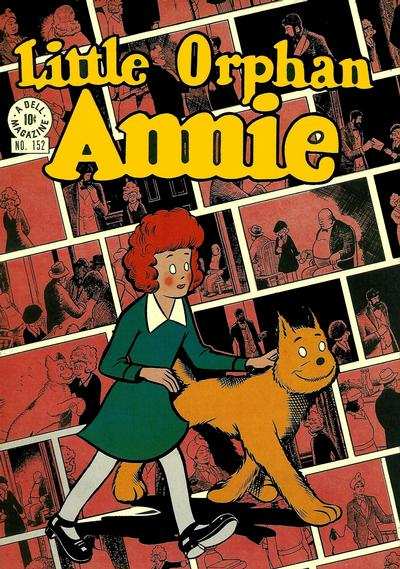 Cover for Four Color (Dell, 1942 series) #152 - Little Orphan Annie