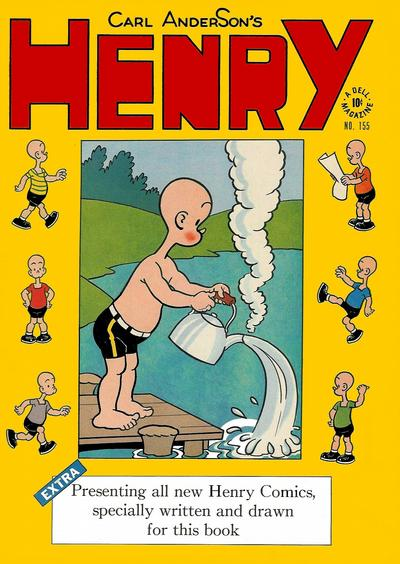 Cover for Four Color (Dell, 1942 series) #155 - Carl Anderson's Henry