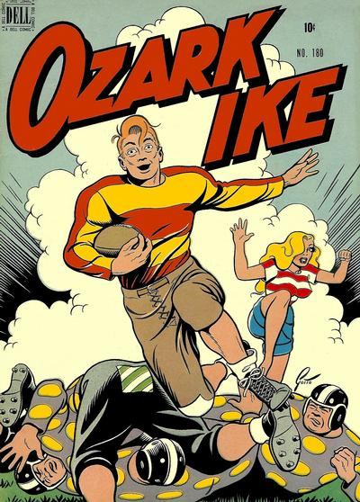 Cover for Four Color (Dell, 1942 series) #180 - Ozark Ike