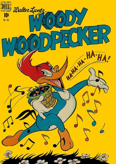 Cover for Four Color (Dell, 1942 series) #202 - Walter Lantz Woody Woodpecker