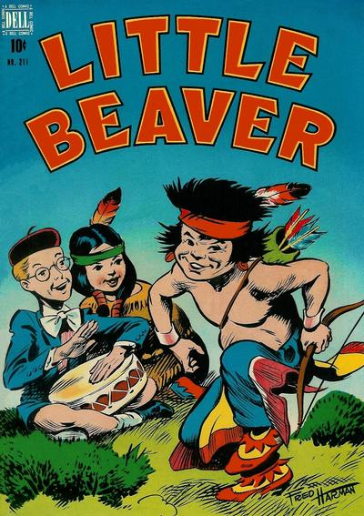 Cover for Four Color (Dell, 1942 series) #211 - Little Beaver