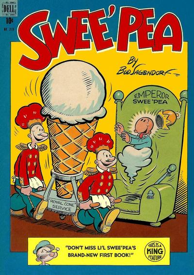 Cover for Four Color (Dell, 1942 series) #219 - Swee'pea