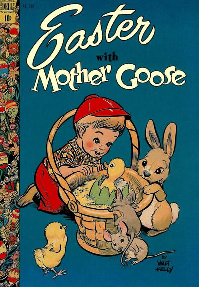 Cover for Four Color (Dell, 1942 series) #220 - Easter with Mother Goose